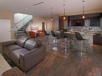 Vegas Views - Family Room and bar -   Las Vegas luxury home rental