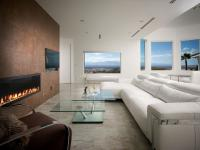 Vegas Views - Living Room -   Las Vegas luxury home rental
