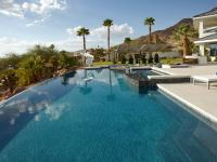 Vegas Views - Infinity Pool -   Las Vegas luxury home rental
